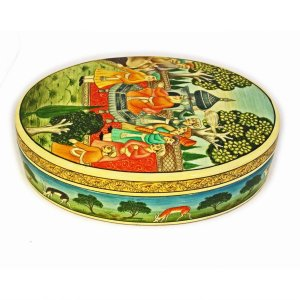 Mughal box -wedding wishes-Kashmir art