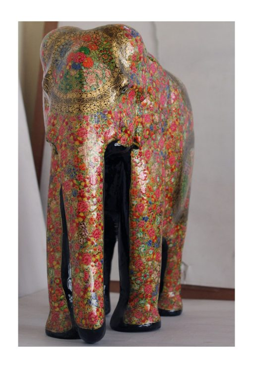 wooden handpainted elephant3 scaled