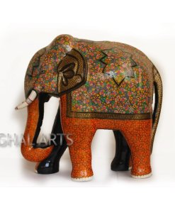 Elephant floral decor,Elephant statue