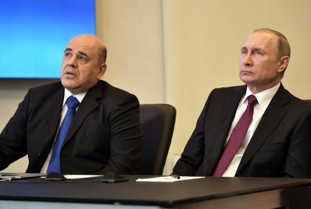 Rusya Başbakanı koronavirüse yakalandı.