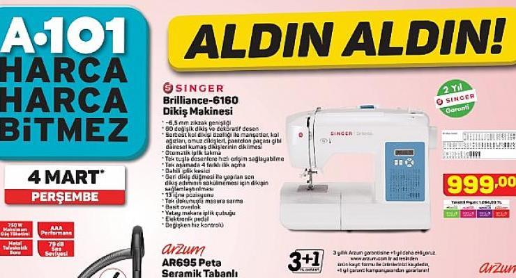 Dünya Kadınlar Günü'ne özel birbirinden uygun fiyatlı ürünler A101 marketlerinde!