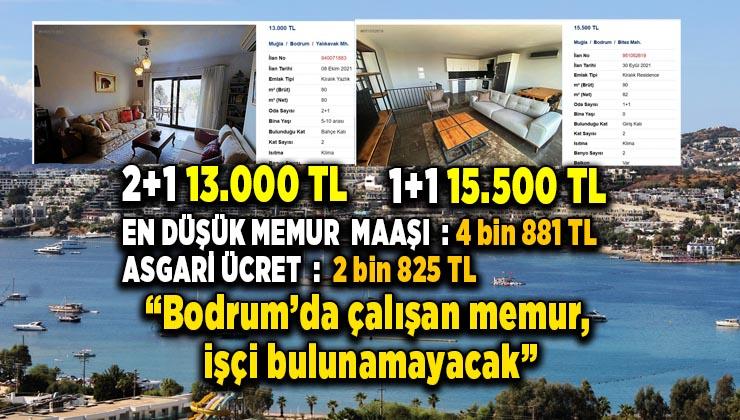 Bodrum'da fahiş ev fiyatları bu kadarına da pes dedirtti