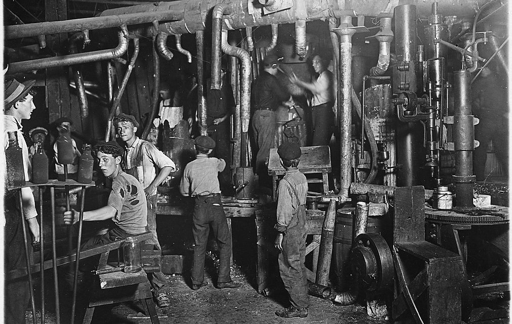 Fotografía: De Lewis Hine - U.S. National Archives and Records Administration, Dominio público, https://commons.wikimedia.org/w/index.php?curid=16895748