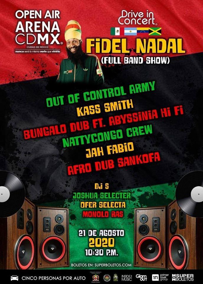 Fidel Nadal se une a los autoconciertos en la Arena Ciudad de México | Mugs  Noticias