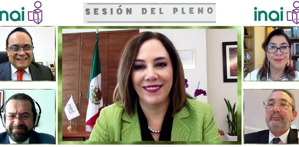 Fotografía: Comisionada del INAI, Blanca Lilia Ibarra Cadena