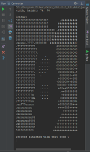 ascii from colorful image