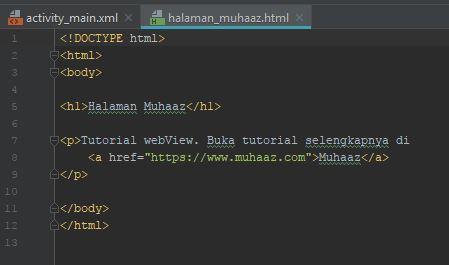 hasil html