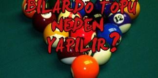 bilardo topları - bilardo topları neden yapılır - bilardo toplarının hammaddesi - bilardo topu hangi maddeden yapılır - bilardo topu neden yapılır