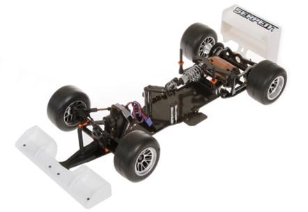 karbon fiber formula-1 şasesi