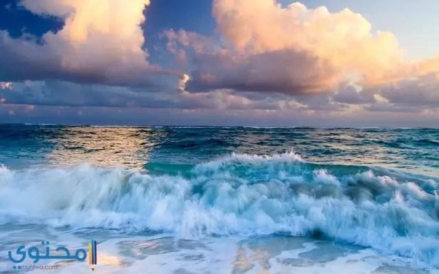 اجمل الصور لموج البحر