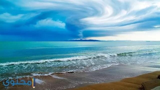 خلفية بحر جميلة