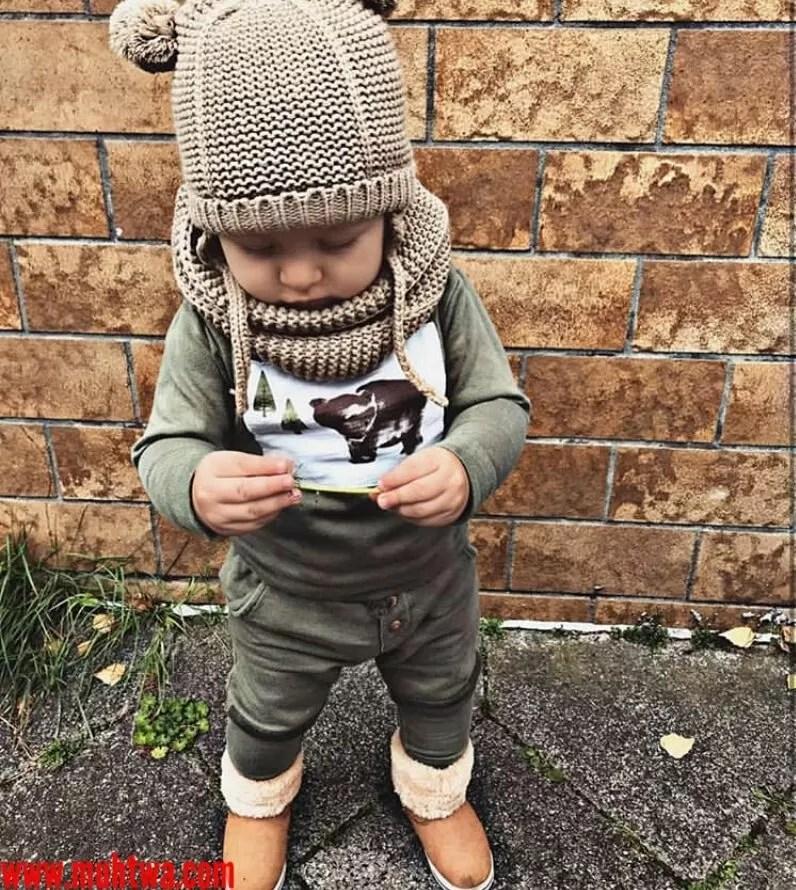 أزياء شتوية للأطفال