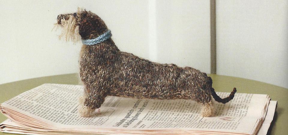 Wireharied dachshund carousel