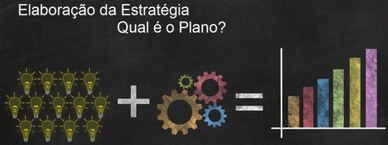 Elaboração da Estratégia - Qual é o Plano