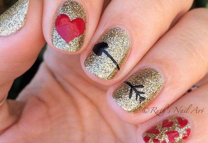 Uñas Decoradas San Valentín El Nail Art Más Romántico Fotos Y