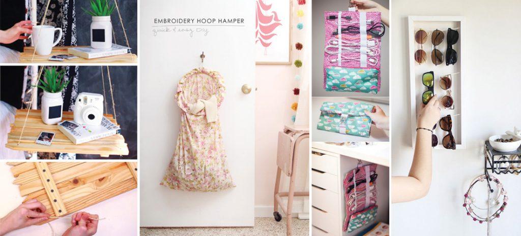 12 ideas fáciles para ordenar y decorar tu cuarto | Mujer ... on Room Decor Manualidades Para Decorar Tu Cuarto id=12408