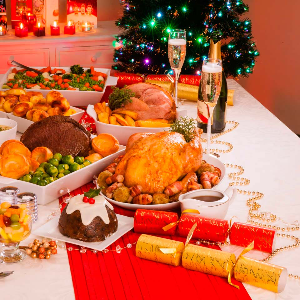 tips cena de Navidad light