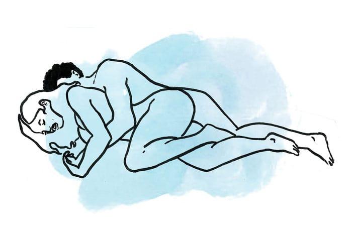 posiciones sexuales para intentar cuando les duele la espalda