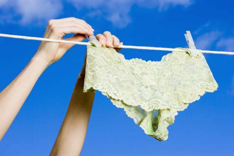 Resultado de imagen de ropa interior secandose