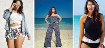 outfits de playa para chicas con curvas