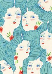 Ilustración mujeres de anna grimal