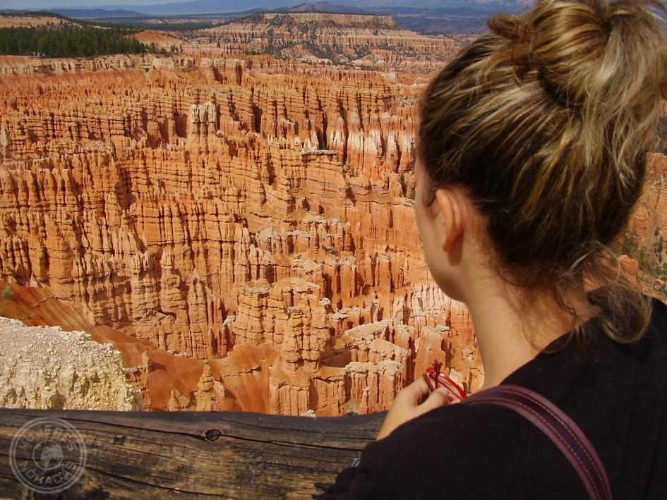 Disfrutando de uno de los Parques Naturales de Utah