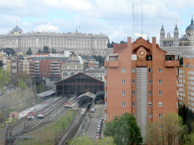 Estación de Príncipe Pío.