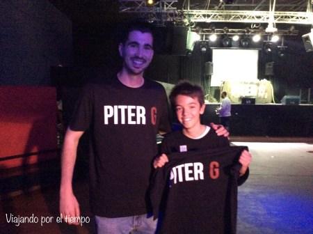 En Sevilla, en el concierto de Piter G