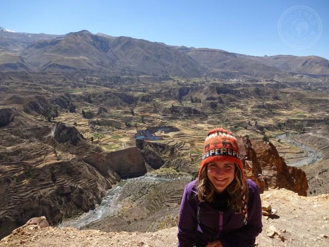 Increíble vista del Valle del Colca
