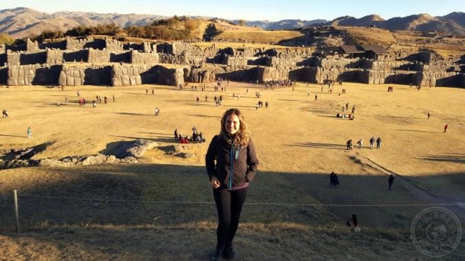 Disfrutando de Sacsayhuaman