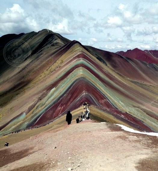 Vista de la Montaña de Siete Colores