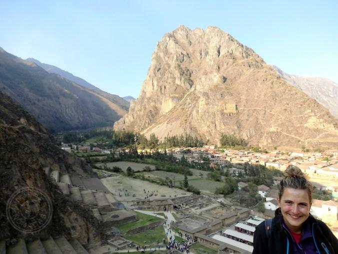 En Ollantaytambo. Empápate y disfruta de la increíble historia de la civilización Inca.