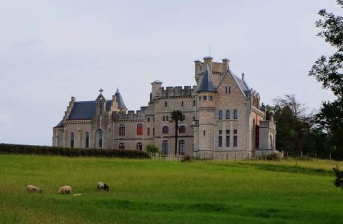 Castillo de la Abadia en Hendaya (Francia)