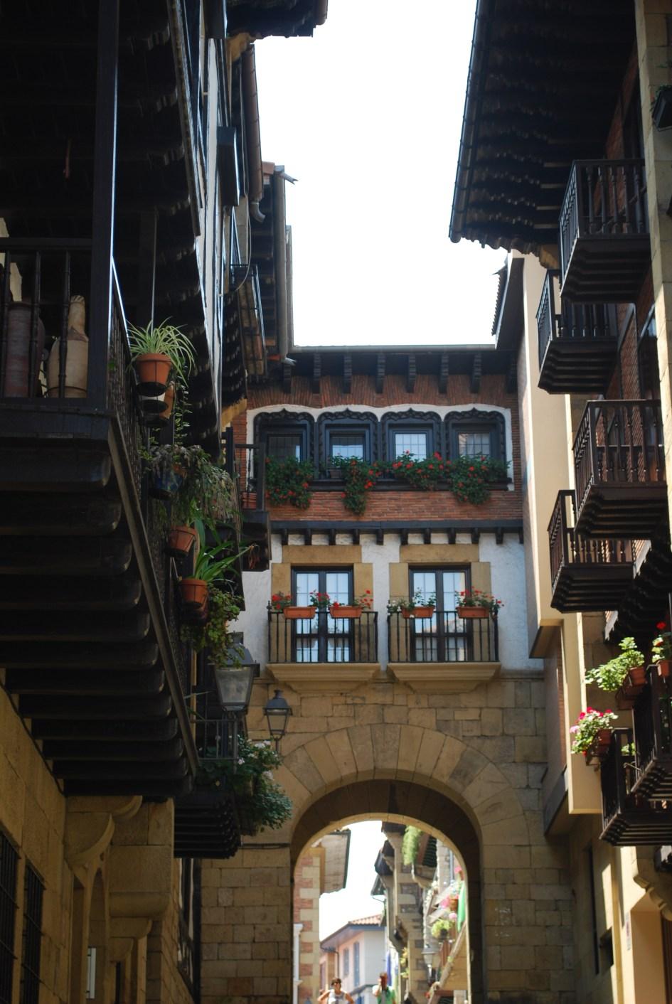 Entrada al Casco Histórico de Hondarribia