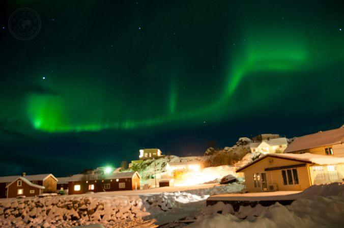 Auroras Boreales en el Círculo Polar Ártico.