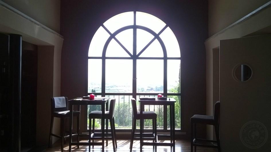 Las vistas desde la cafetería no tienen desperdicio.