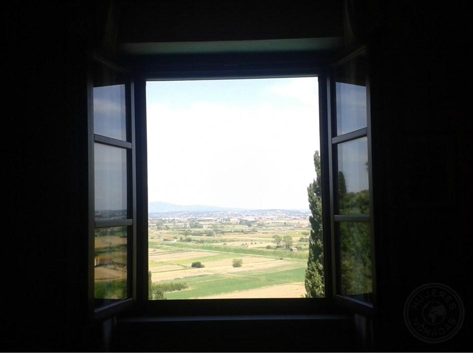Vistas desde Santa María A Monte.