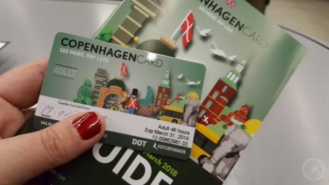 Junto con la Copenhague Card te dan una agenda con mapas, horarios y descuentos.