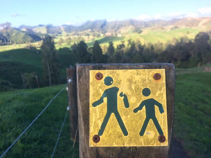 Ruta de senderismo en Waitomo