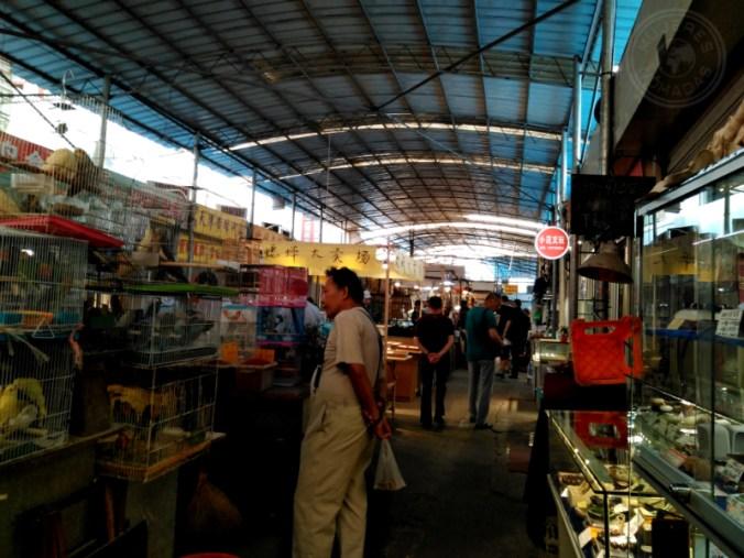 Mercado de animales en Shanghái.