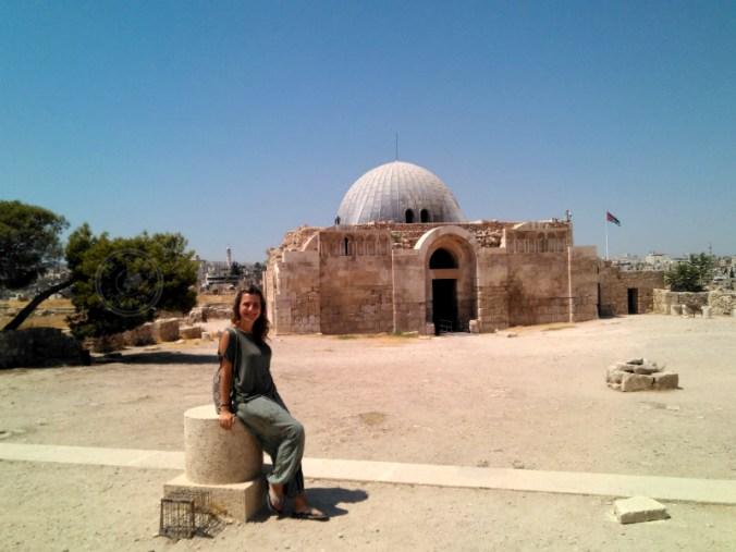 Palacio Omeya, dentro de la Ciudadela. Amán.