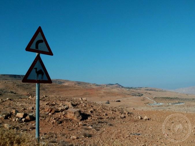 Típicas señales en la carretera.