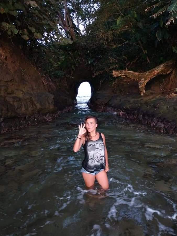 Mirador Manzanillo. Miss May Point. Costa Rica.