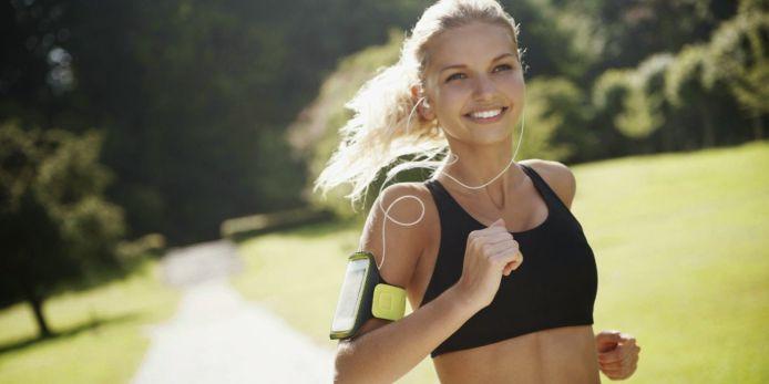 mujer corriendo running blog