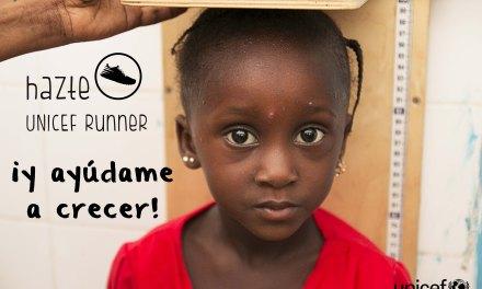 Unicef, carrera contra la desnutrición infantil.