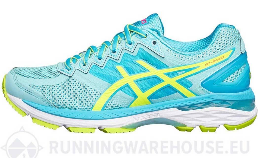 Zapatillas para tu entrenamiento diario: Asics running mujer GT-2000