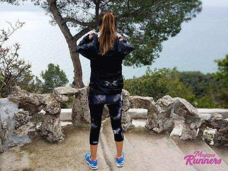 Asics Gel Nimbus 19 Azul mujeres runners