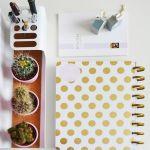 Optimiza el tiempo. Planning diario con las cosas más importantes para organizar el día.