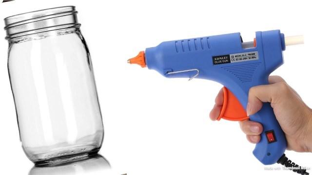 Decorar frascos de vidrio manualidades