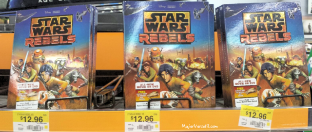 Star Wars Rebels DVD en Walmart